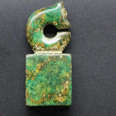 Fine Chinese Hongshan Culture Old Jade Hand Carved Pendant