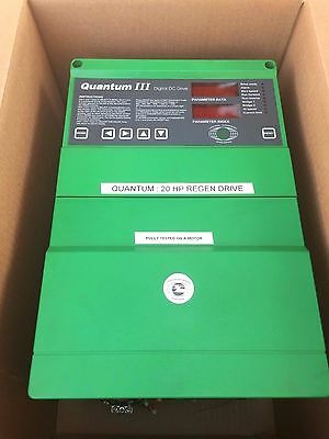 Quantum 3 Dc Drive Control Techniques  20 Hp 9500-8602 M45R-14Icd Tested