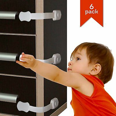 Premium Quality Child Safety Cabinet Locks For Child Proofing – No drilling Baby