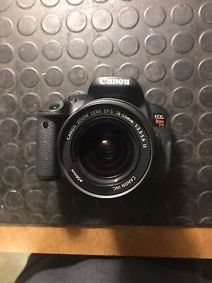 Canon EOS Rebel T5i Digital SLR Camera For Parts/Fix