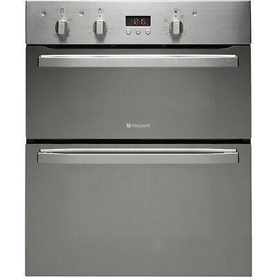 Hotpoint UD53X Built Under Electric Double Spacious Oven Stainless Steel