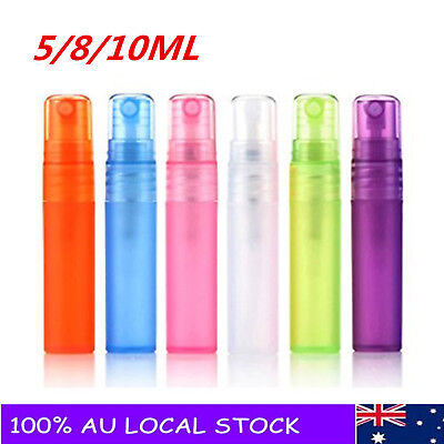 Color Empty Plastic Spray Perfume Bottle Small Promotion Sample Perfume Atomizer