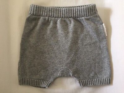 Purebaby Organic Cotton Unisex Bottoms Shorts Size 0000 Excellent Cond.