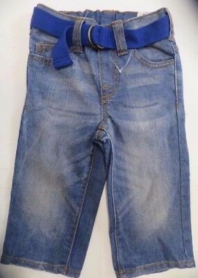 Boys jeans denim M & S Baby age 12 18 months 3 4 years NEW with belt