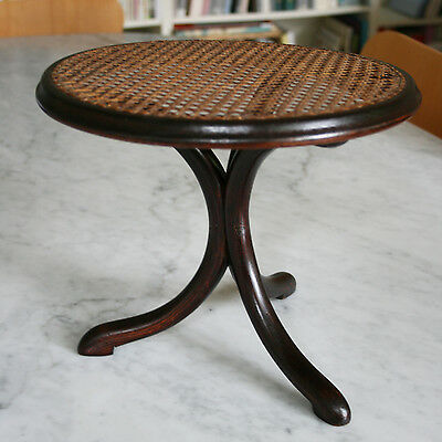 THONET rare table pour poupée 1900 Art Nouveau doll furniture bentwood antique