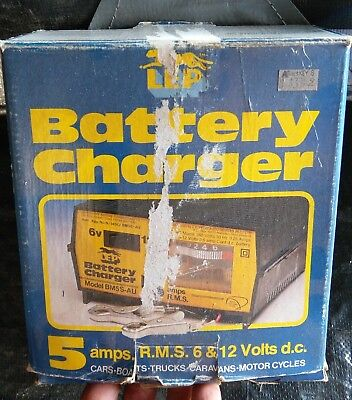 Old battery charger 6 and 12 volt