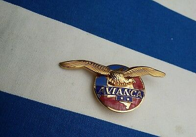 AVIANCA COLOMBIA Pilot Wings Airline Aviation Airways badge