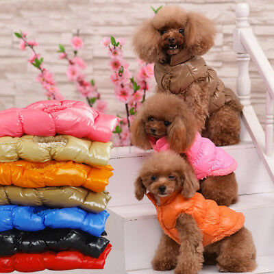 Pet Dog Puppy Winter Warm Coat Vest Jacket Waterproof Apparel for Small/Large/XL