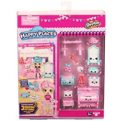 Shopkins Happy Places Decorator Pack - Bearly Ballet Class