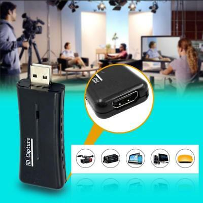 Mini USB 2.0 Port HD HDMI 1080P 60fps Video Capture Card Monitor for Tablet PC