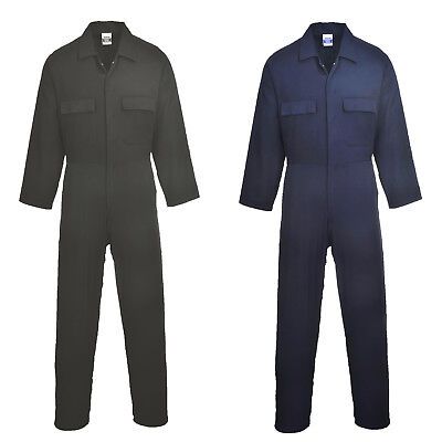 S998  Portwest euro work cotton coverall welding boilersuit mechanics overall