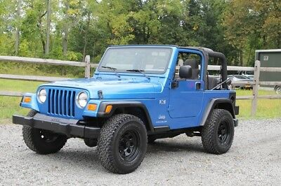 2003 Jeep Wrangler X 2003 Jeep Wrangler TJ Manual, 108k miles Clean, no rust