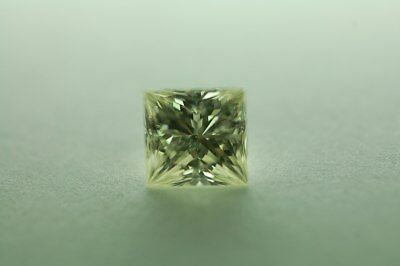 Lose natürliche(clarity enhanced) Diamant Prinzess 1.60 ct P3/Gray Green