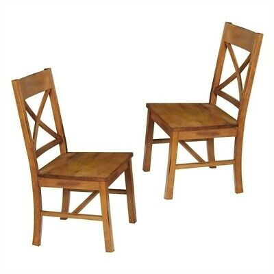 Millwright Dining Chair in Antique Brown (Set of 2)