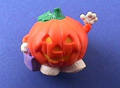 BUY1&GET1@50%~Hallmark MERRY MINIATURES Halloween PUMPKIN TRICK or TREAT Vtg