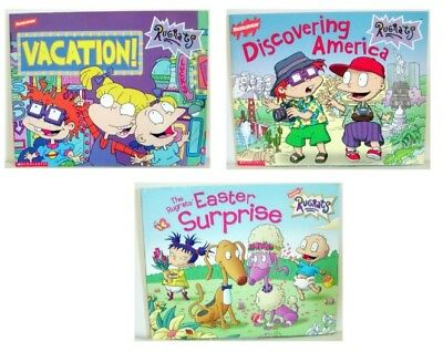 Lot Of 3- Rugrats Pb Books For Young Children- #4