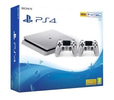 PS4 Slim 500GB Silver Limited Edition