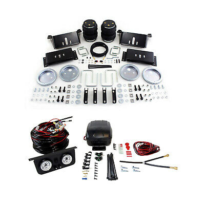 Air Lift Control Air Spring & Dual Air Leveling Kit for Chevy C10/C20/C30 Pickup
