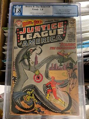 1960 Brave and the Bold #28 PGX 1.8 Justice League 1st App