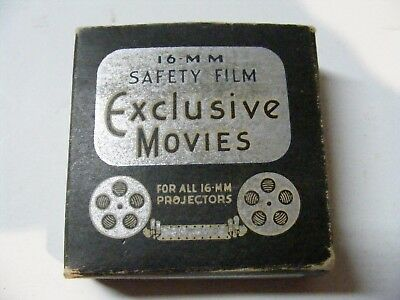 """Vintage 16mm Exclusive Movies  Safety Film Charlie Chaplin """"This is The Life"""""""