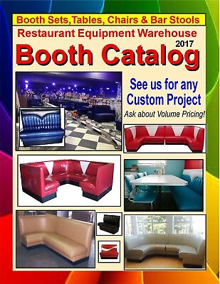 2017 Restaurant Diner Booth Catalog & Color Chart (PDF)