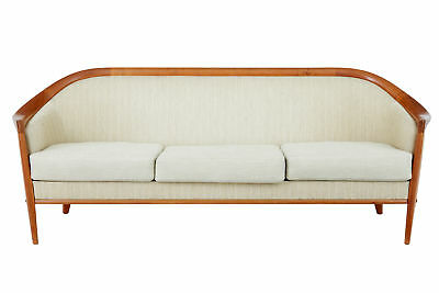 1960's SWEDISH ANDERSSON TEAK 2 PIECE SUITE SOFA AND ARMCHAIR