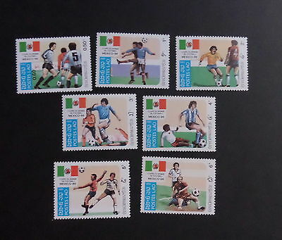 Laos 1985 World Cup Football Championship Sg709/805 MNH UM unmounted mint