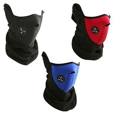 Neoprene Bicycle Motorbike Ski Face Mask- Neck Tube Scarf Snood Balaclava Sports