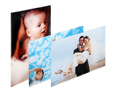 """Personalised Acrylic Photo Block 5mm With Your Photo printed upto size 12"""" x 10"""""""