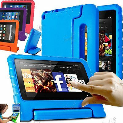 Children kid Case Safe EVA Foam Cover For Amazon Kindle Fire 7 2017 Alexa Tablet