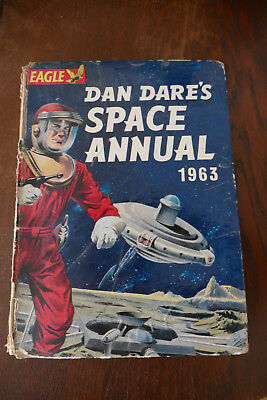 Eagle Dan Dare's Space Annual 1963 fantastic sci-fi stories & pics 50 years old