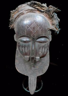 Outstanding  Tribal Basuku Mask  ---  Congo