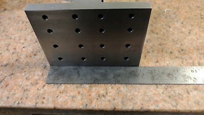 4 X 4 X 5 Precision Ground Right Angle Plate