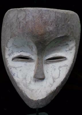 Old Tribal Kwele  Mask  ---  Gabon