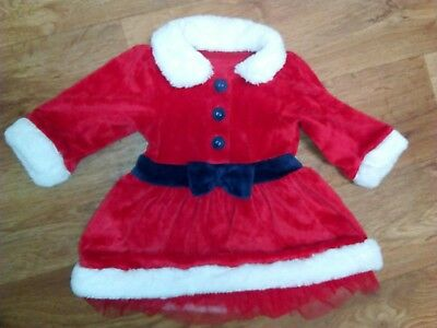 M&S 0/3 months baby girl Christmas dress