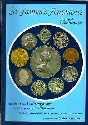 St James Auction Catalogue  May 2006 Ancient British And Foreign Coins Etc Ex