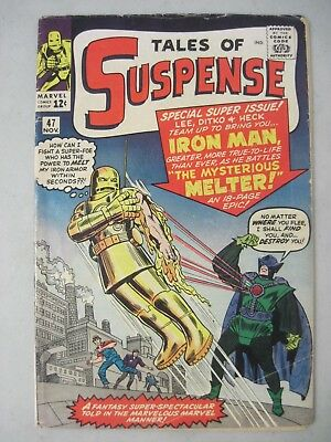 Tales Of Suspense #47 Marvel Comics 1963 Iron Man 1St App. The Mysterious Melter