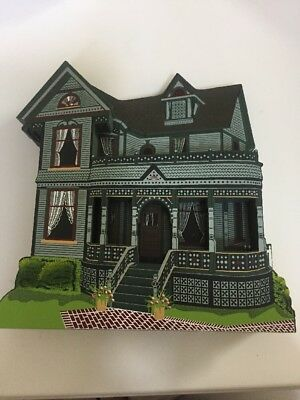 Shelia's Collectible Tinker Toy House, Howell MI, Victorian Monroe SOC04