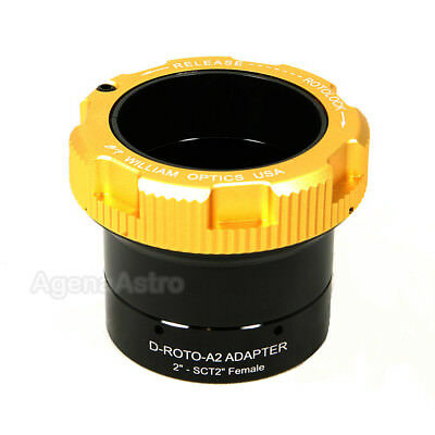 "William Optics 2"" RotoLock SCT Eyepiece Adapter / Visual Back D-ROTO-A2-SCT2F"