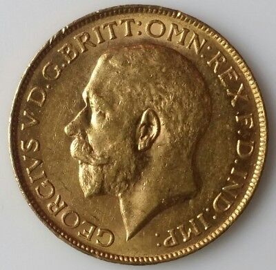 1925 SA Great Britain Gold Sovereign (Pretoria, South Africa)