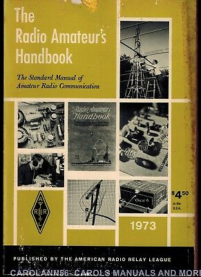 Arrl Radio Amateurs Handbook 1973