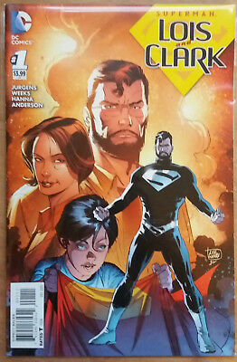 SUPERMAN LOIS AND CLARK #1 1st appearance of Jonathan Kent Rebirth DC