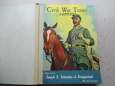 Civil War Times Illustrated Magazine - NINE 1966 Issues, Bound