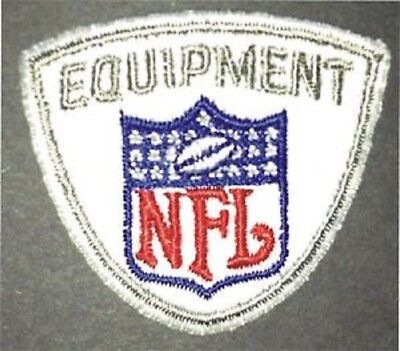 National Football League NFL Equipment Embroidered Logo Patch..JERSEY/HAT