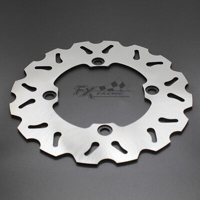 CNC Rear Brake Disc Rotor For XRV 750 Africa Twin 1990-1993 Honda 91 92 Silver