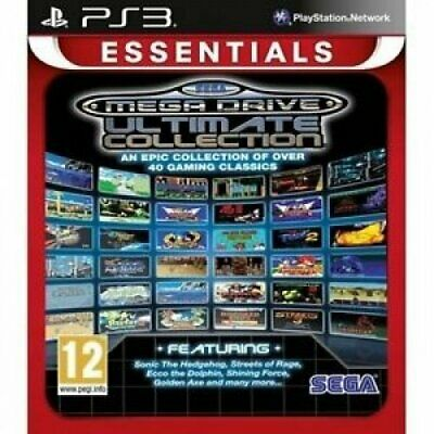 PS3 Game Sega Mega Drive Ultimate Collection NEW