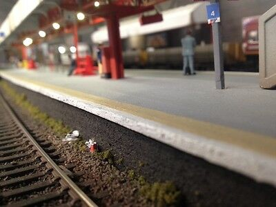 Trackside & Street, Litter pack, Model Railway Accessories, Trains, O Gauge