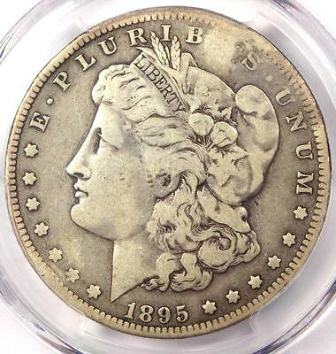 1895-O Morgan Silver Dollar $1 - PCGS Fine Details - Rare Date - Certified Coin