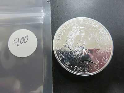"2017 2 oz. Fine Silver .9999 ""Red Dragon of Wales"" 5 Pounds"