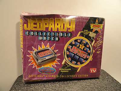 Jeopardy Collectible Watch 1999